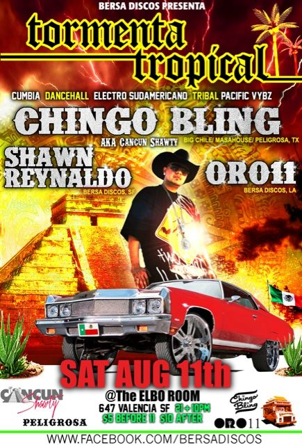 Tormenta Tropical w. Chingo Bling