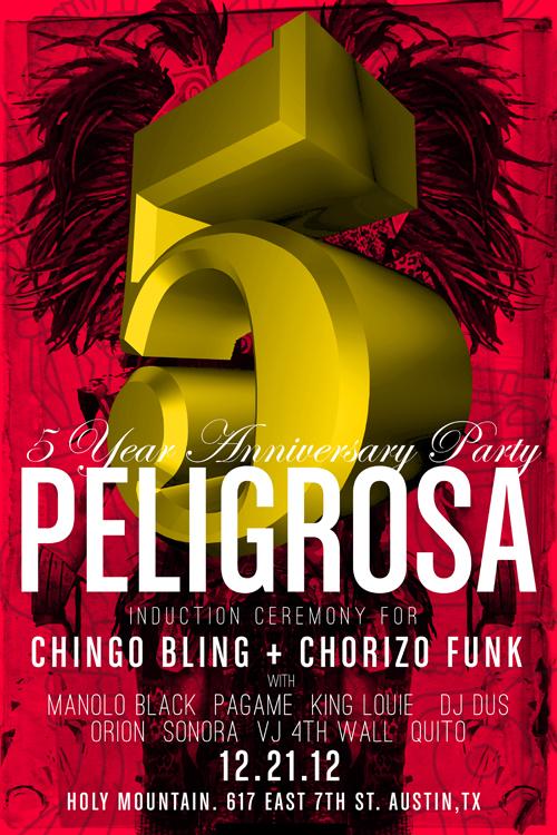 Peligrosa 5 Year Anniversary