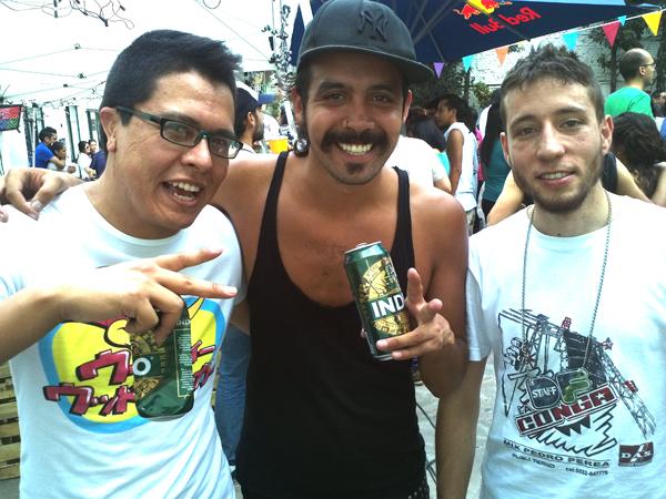 BootleggumMaching (L), Black Jesús (M), Pablo (R)