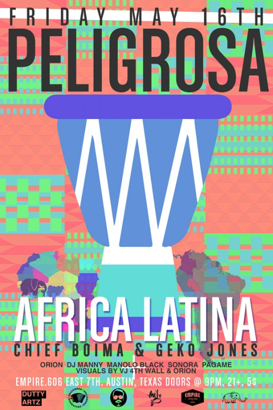Peligrosa @ Empire with Africa Latina