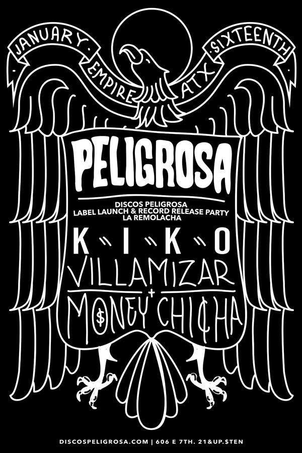 Peligrosa Discos Peligrosa Launch Party